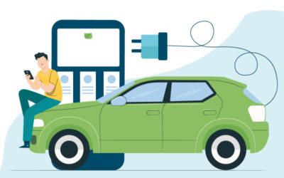 Luzía viaja en verde. Guía fácil para cargar tu coche eléctrico en casa.